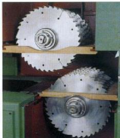 Многопильный двухшпиндельный делительный станок MRS-700