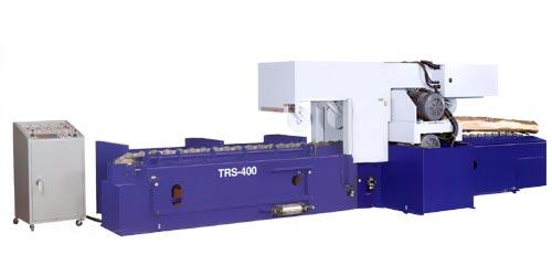 Дисковый развальный бревнопильный станок TRS-400