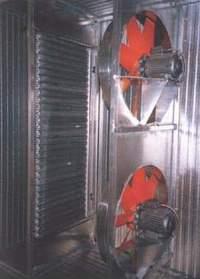 Циркуляция воздуха в сушильной камере