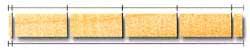 Режим расторцовки на блоки равной длины